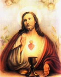 Resultado de imagem para Coração Eucarístico de Jesus
